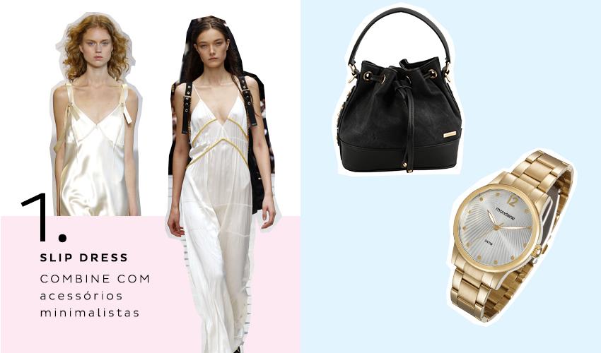 1 slip dress 1 - Dez tendências de moda para o verão 2017
