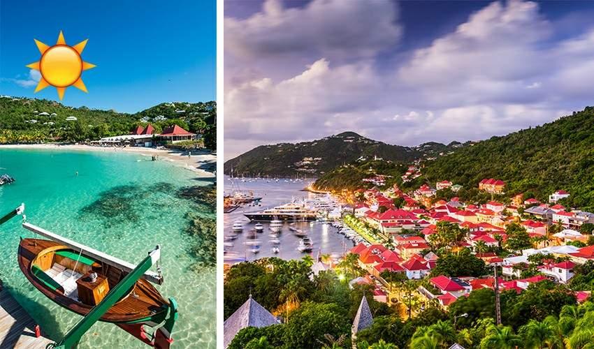 2a - Conheça Saint-Barth, um pedacinho da França nas águas do Caribe.