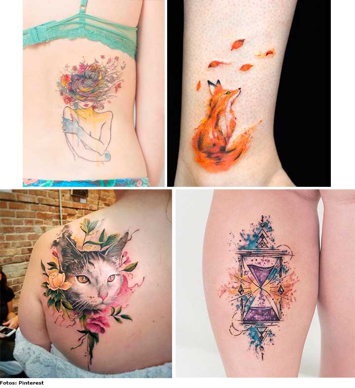 aquarela - Tatuagens e lifestyle: saiba mais sobre essa tendência
