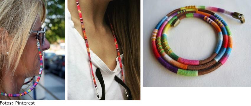 corda - Corrente para óculos: use a tendência e crie looks incríveis