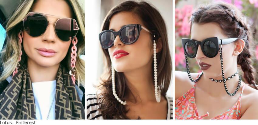 neutras - Corrente para óculos: use a tendência e crie looks incríveis