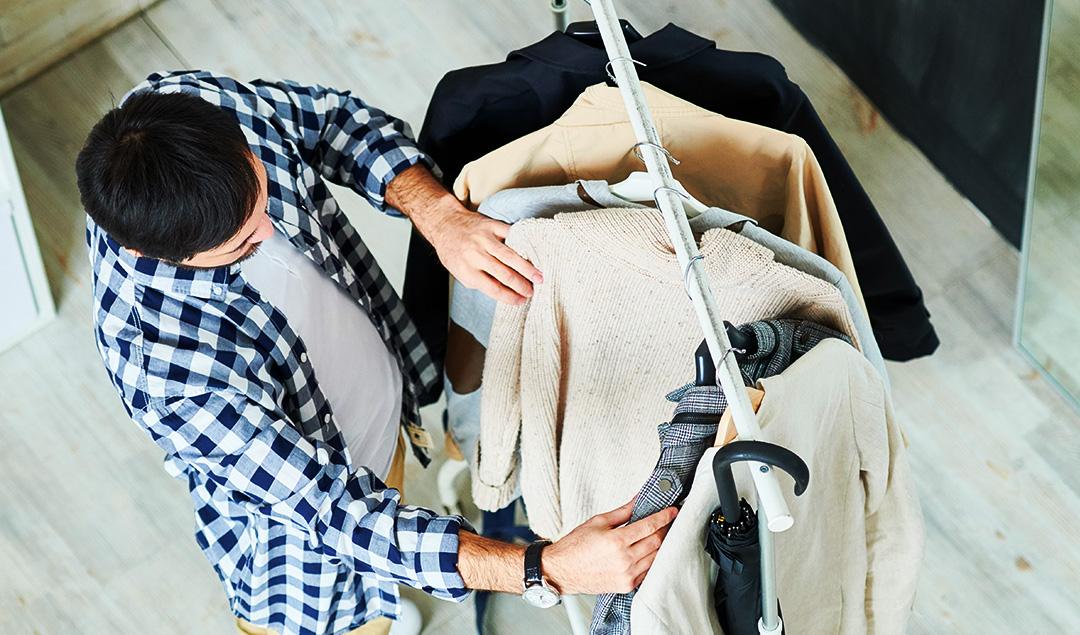 guarda-roupa masculino