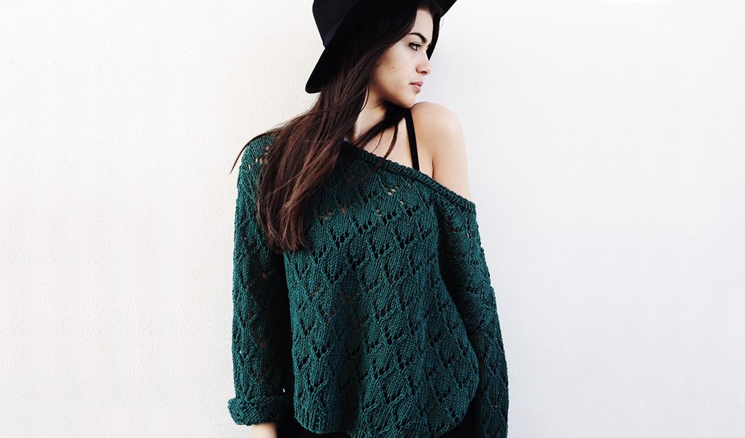 tendência do tricô