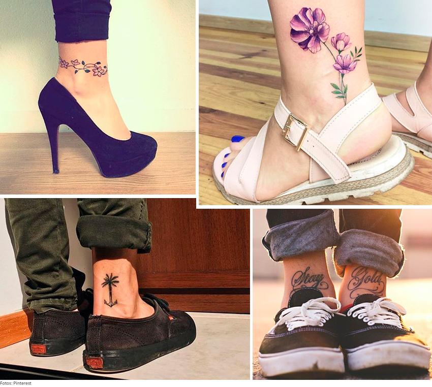 TORNOZELO - Dicas de looks para sua tatuagem ficar à mostra!