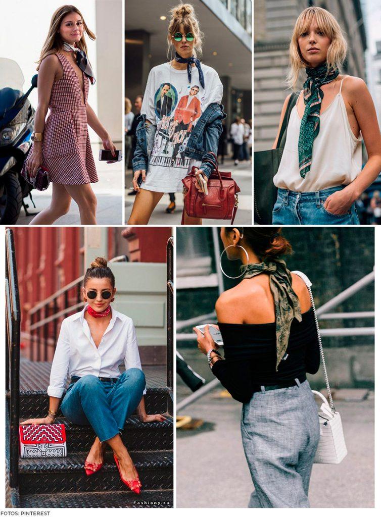 FEM PESCOÇO 754x1024 - Descubra 9 maneiras descoladas de como usar lenço nos looks!
