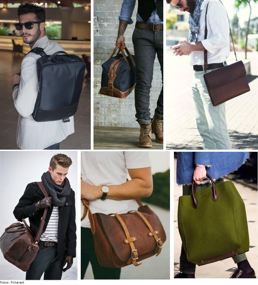 bolsas - 5 acessórios indispensáveis no closet dos homens
