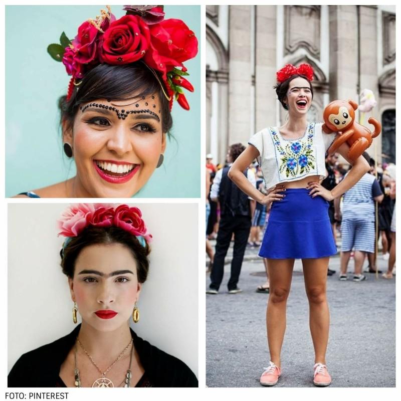 fantasia fe frida kahlo - 5 fantasias de Carnaval fáceis e baratas de fazer!
