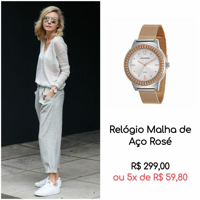 01 RELÓGIO ROSÉ - 5 provas que o relógio rosé é a trend mais charmosa da temporada