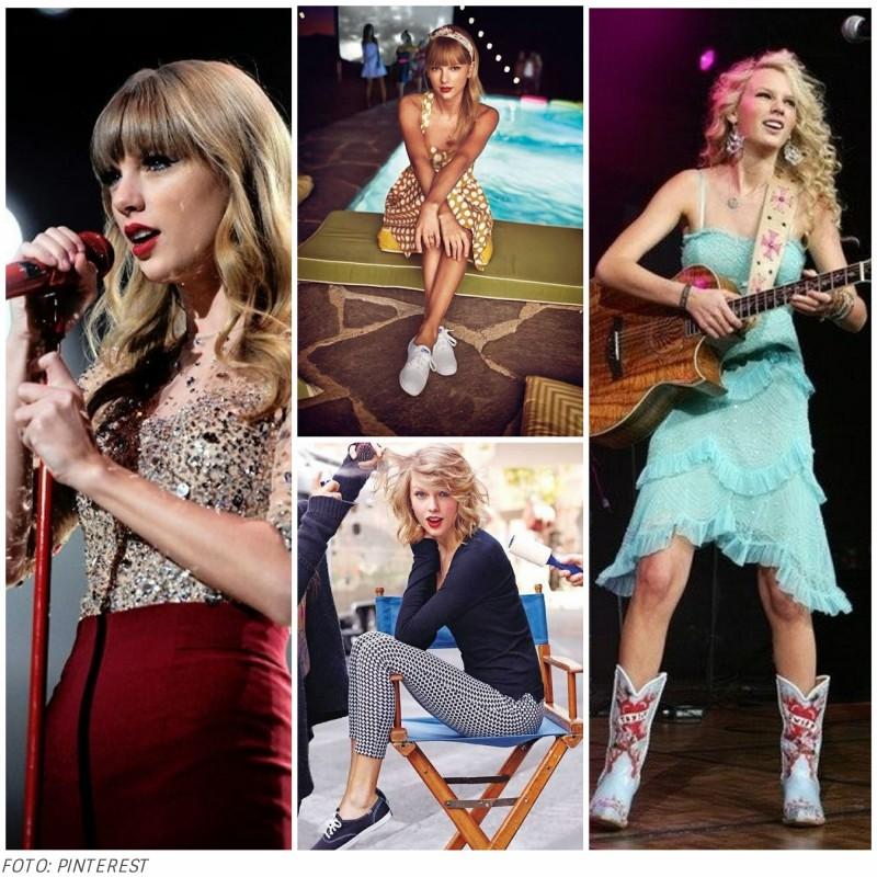 looks de Taylor Swift