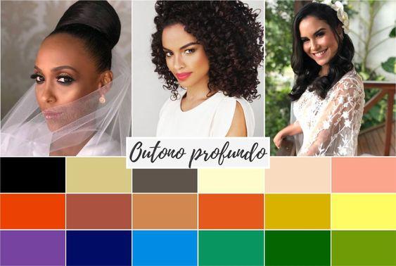 outono profundo - Coloração pessoal: cores que mais harmonizam com você! Descubra no Ouse Todo Dia