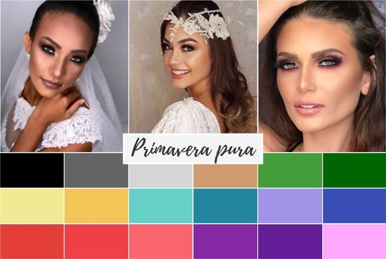 primavera pura - Coloração pessoal: cores que mais harmonizam com você! Descubra no Ouse Todo Dia