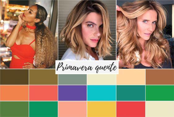 primavera quente - Coloração pessoal: cores que mais harmonizam com você! Descubra no Ouse Todo Dia