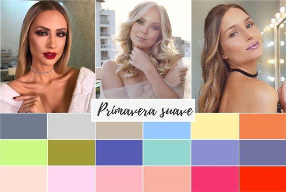 primavera suave - Coloração pessoal: cores que mais harmonizam com você! Descubra no Ouse Todo Dia