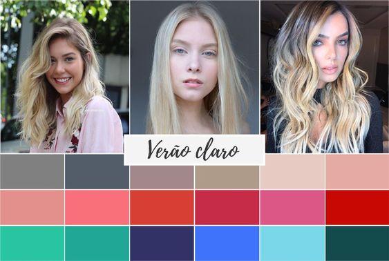 verão claro - Coloração pessoal: cores que mais harmonizam com você! Descubra no Ouse Todo Dia