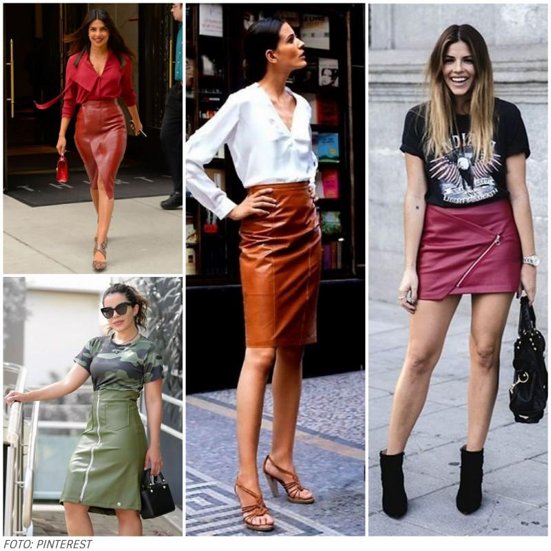 LOOKCOMSAIADECOURO4 - Look com saia de couro no verão? 5 inspirações para copiar já!