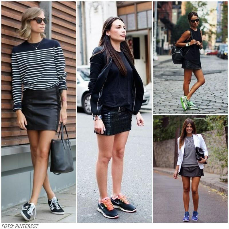 LOOKCOMSAIADECOURO7 - Look com saia de couro no verão? 5 inspirações para copiar já!