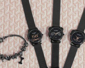 linhapetsrelogiosanalogicosfemininos 348x278 - Só para crianças? Não! 6 looks para combinar com os relógios Pets 🐱🐶🐼