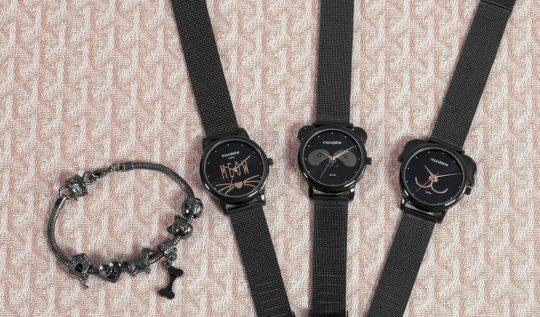 linhapetsrelogiosanalogicosfemininos 540x317 - Só para crianças? Não! 6 looks para combinar com os relógios Pets 🐱🐶🐼