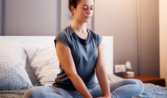 exercícios de relaxamento antes de dormir