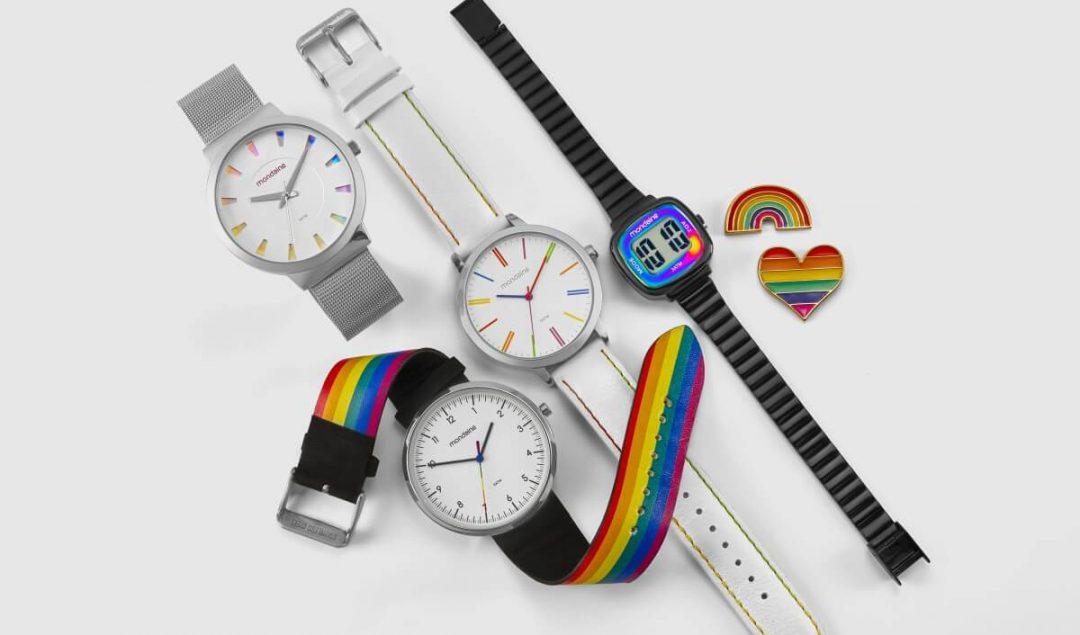 ColecaoprideLGBTdaMondaine1 1080x635 - Coleção Pride: Explore os novos Relógios LGBT da Mondaine!