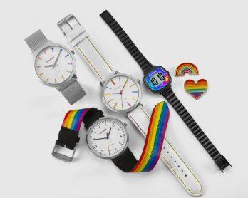 ColecaoprideLGBTdaMondaine1 348x278 - Coleção Pride: Explore os novos Relógios LGBT da Mondaine!