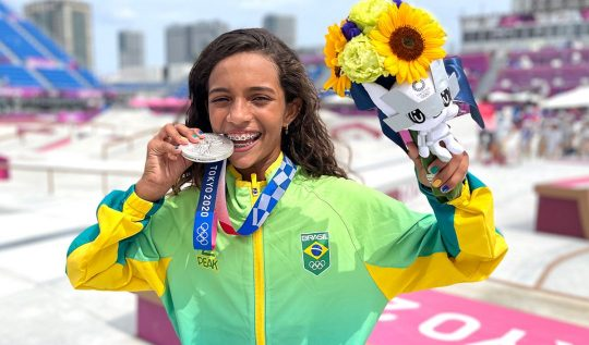 Rayssa Leal: a história da jovem que arrasou nas Olimpíadas