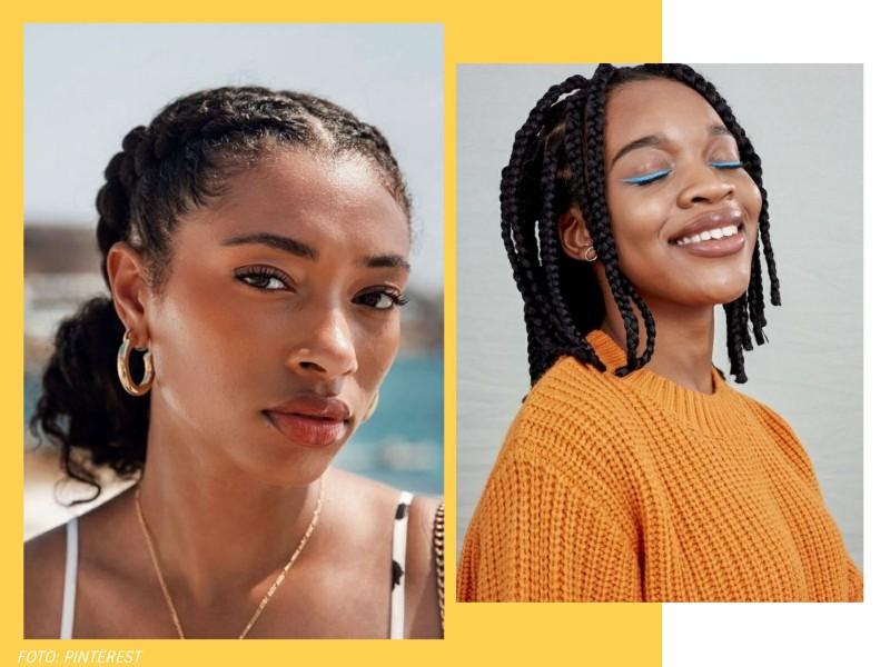 trancasafro5 1 - 4 ideias de tranças afro MARAVILHOSAS para testar já!