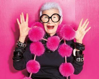 irisapfel 348x278 - 100 anos de Íris Apfel: a história de um ícone fashion