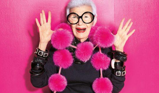 irisapfel 540x317 - 100 anos de Íris Apfel: a história de um ícone fashion