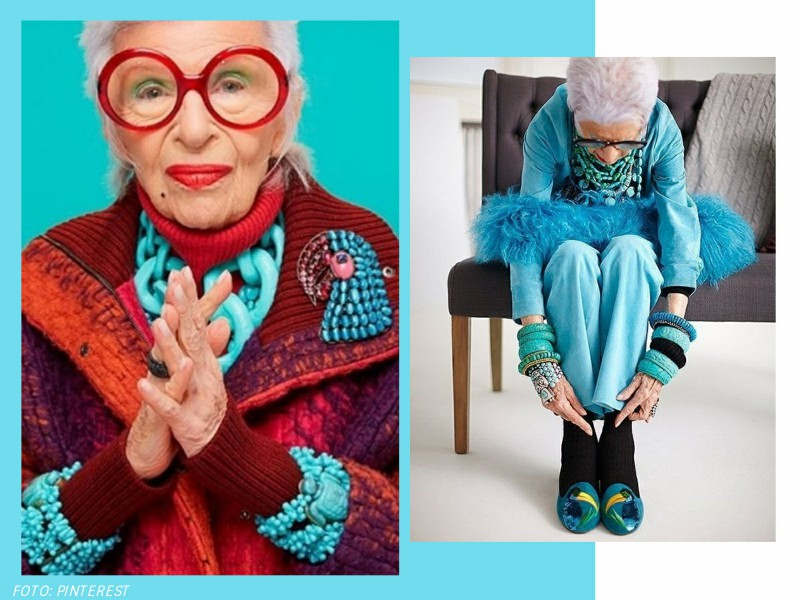 irisapfel3 - 100 anos de Íris Apfel: a história de um ícone fashion