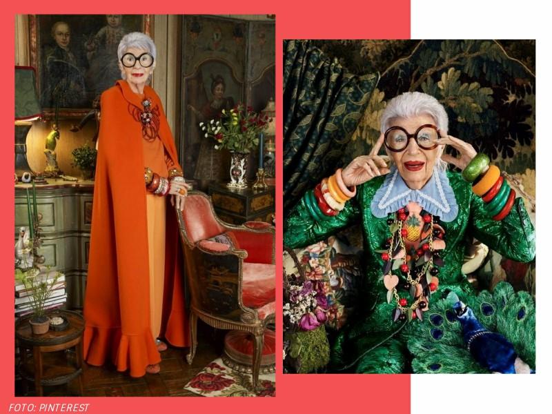 irisapfel4 - 100 anos de Íris Apfel: a história de um ícone fashion