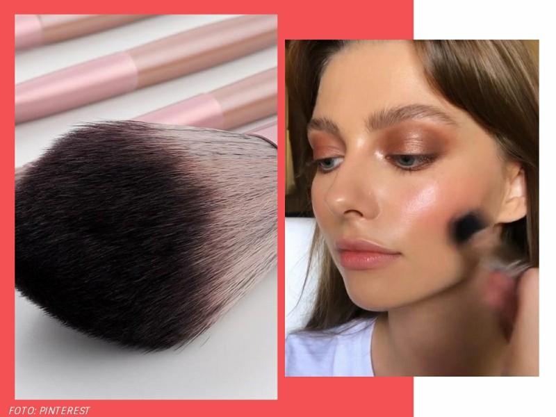 aplicarblush1 - Rosto corado: 4 maneiras de aplicar blush