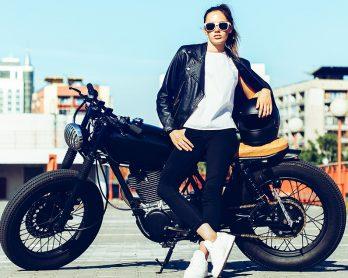 moda e motociclismo